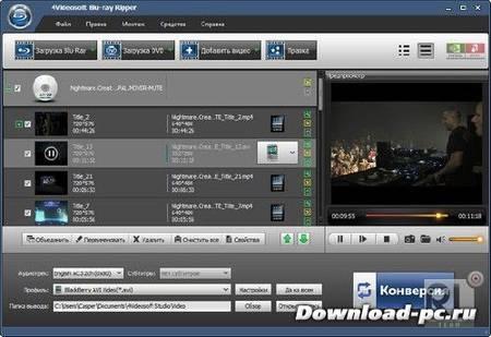 4Videosoft Blu-ray Ripper 5.0.30.14098 + Rus