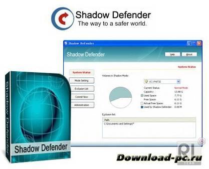 Shadow Defender 1.2.0.355 (x86/x64) Final + RUS