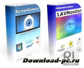 ScreenCamera 3.0.5.80 + 1AVMonitor 1.8.8 *FREE*