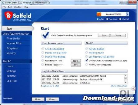 Salfeld Child Control 2012 v12.468