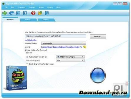 Bigasoft Video Downloader Pro 1.2.23.4815