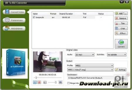 OpoSoft All To AVI Converter 8.5