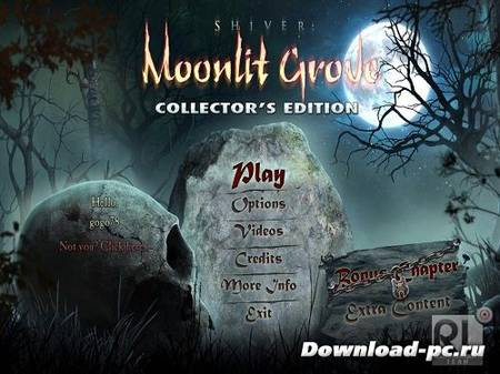 Shiver 3: Moonlit Grove Collector's Edition (2013/Eng)