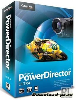 CyberLink PowerDirector Ultra 11.0.0.2707 ML/RUS + Content Pack Premium