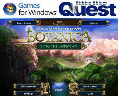 Botanica: Into the Unknown Collector's Edition (2012/ENG)