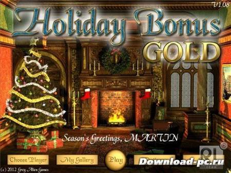 Holiday Bonus Gold Edition (2012/ENG)